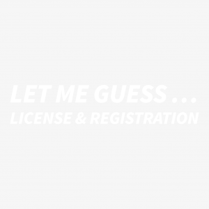 Let me guess… License & registration
