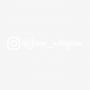 Instagram sticker (Instagram lettertype)