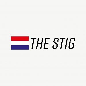 Driver sticker met NL vlag